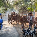 Dzień z życia rowerzysty w Birmie